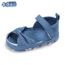Baby Summer shoes Newborns Girls Boys Casual Anti-slip Soft Sole Canvas shoes Toddler baby summer sneakers Sandals