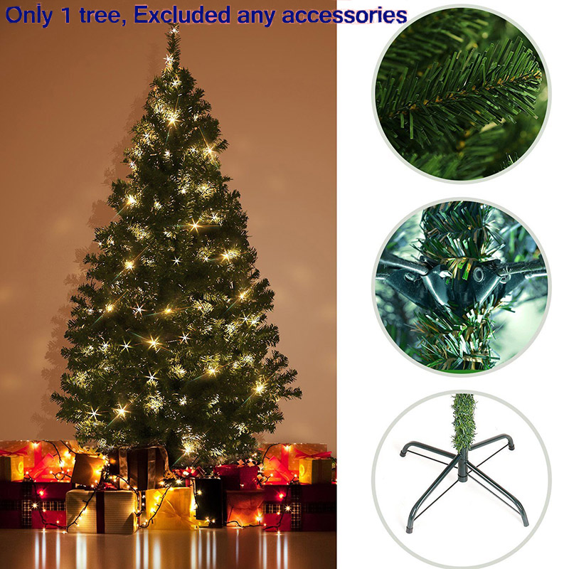 180 cm artificial large christmas tree set home christmas for 180 degrees christmas decoration