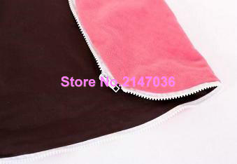 Brown / pink seat Inexpensive Zipper Baby Bean Bag Soft Sleeping Bed Portable Seat Without Filling