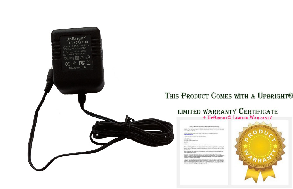 Accessory USA 9V AC to AC Adapter for DigiTech Whammy Pedal I//Whammy Pedal II//Whammy 4 Guitar Multi Effects Pedals 9VAC Power Supply Cord