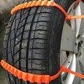 5 UNIDS Reglajes Del Coche Universal Mini De Plástico ruedas Neumáticos Cadenas Para La Nieve de Invierno Para Coches/Suv Car-Styling Anti Autocross antideslizantes Al Aire Libre