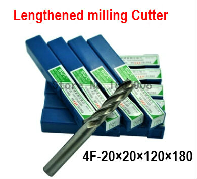 Free delivery 4 slot 1PCS M20.0 high speed steel straight shank vertical milling cutter milling cutter of end milling cutter|cutter mower|cutter knife|cutter charge - title=