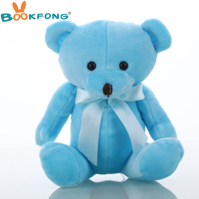 BOOKFONG Lovely Teddy bear plush toys small doll bears for wedding cartoon flower bouquet bear toy Promotion Gifts 15cm Uncategorized Decoration Stuffed & Plush Toys Toys