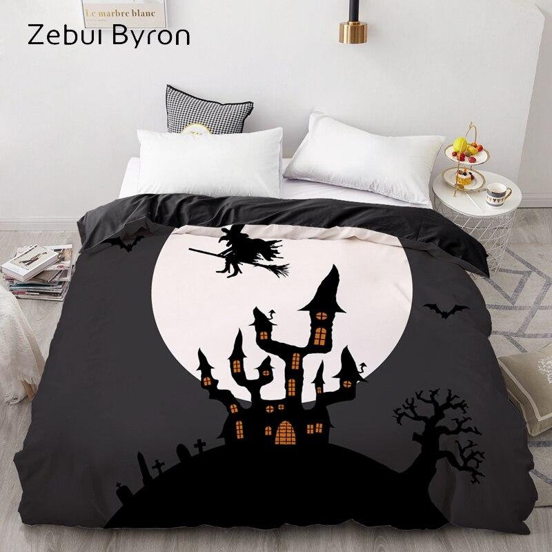 3D HD Print Custom Duvet Cover,Comforter/Quilt/Blanket case Queen/King/220×240/200×200,Bedding Halloween dark castle witch Sleeping bags & camp bedding cb5feb1b7314637725a2e7: Halloween-20|Halloween-21|Halloween-22|Halloween-23|Halloween-24