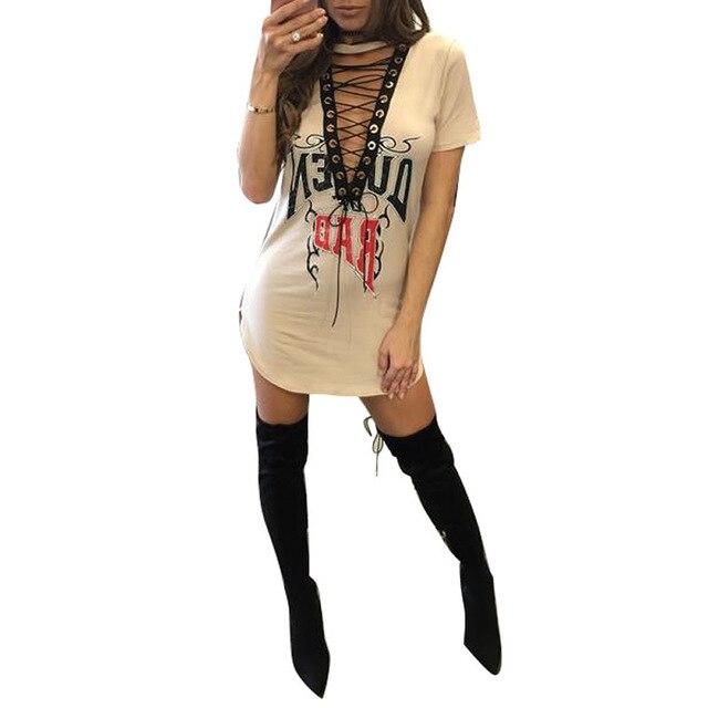 2017 Ukraine Sexy Women vestidos Lace Vintage summer dress print letter bodycon club Black gothic dresses bandage plus size XL 3