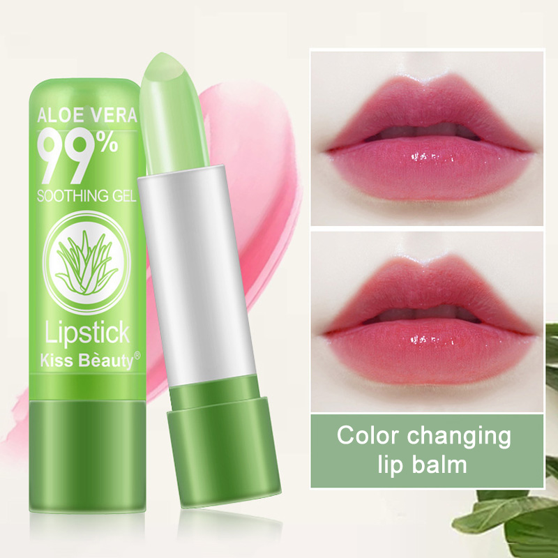 Makeup Lipstick Waterproof Lipgloss Color Changing Long Lasting Lip Stick Balm Cosmetic SSwell