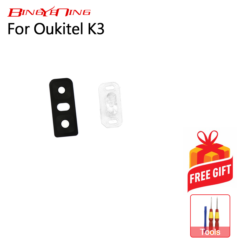 Bingyening Camera-Lens Oukitel K3 Flash-Cover For Rear Glass Back High-Quality New New