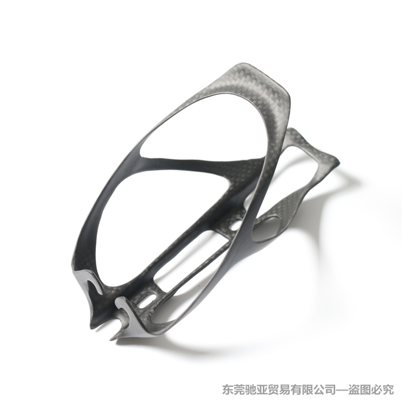 2Pcs/Lot Lightweight Bicycle Cycling Full Carbon Fibre Black Bottle Holder / Universal Bottle Cage Durable Accessories Parts