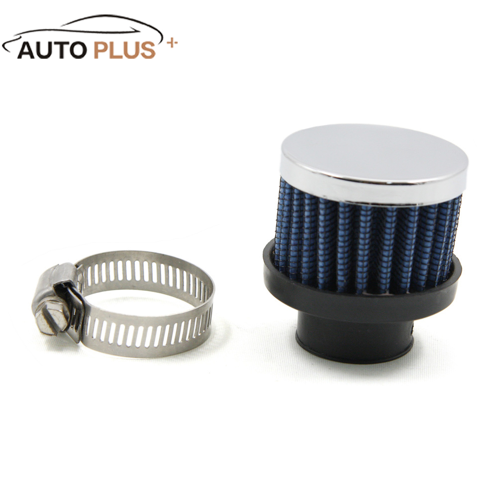 Air Filters For Cars : Universal car mini air filter mm diameter clamp on auto