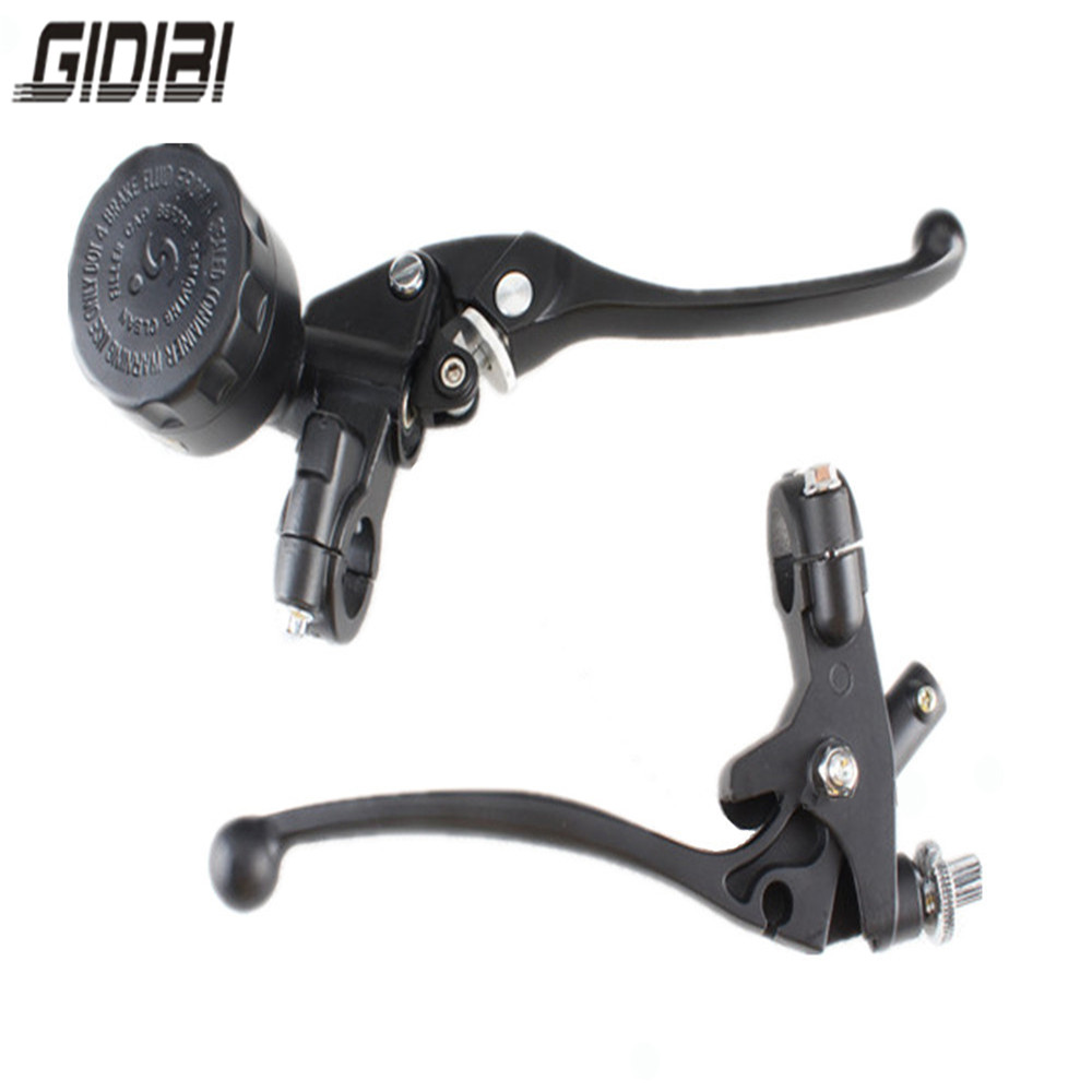 7/8 Universal Motorcycle Hydraulic Brake Master Cylinder Clutch Lever 22mm Black