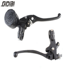 цена на 7/8 Universal Motorcycle Hydraulic Brake Master Cylinder Clutch Lever 22mm Brake Master Cylinder Black