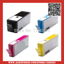 4 PCS pour hp364 Cartouche D'encre pour HP 364 XL pour hp Photosmart 5510 5515 6510 B010a B109 B110a B110c B110e B209 B210 imprimante