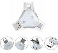 Universal Flash Drive USB Micro USB MicroSD TF Memory Card Reader Adapter For IPhone 5 6