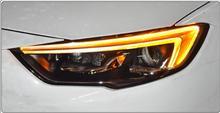 Estilo do carro opel insignia farol para regal para 2017 ~ 2018/hid xenon 2003 2008, acessórios do carro todos os led