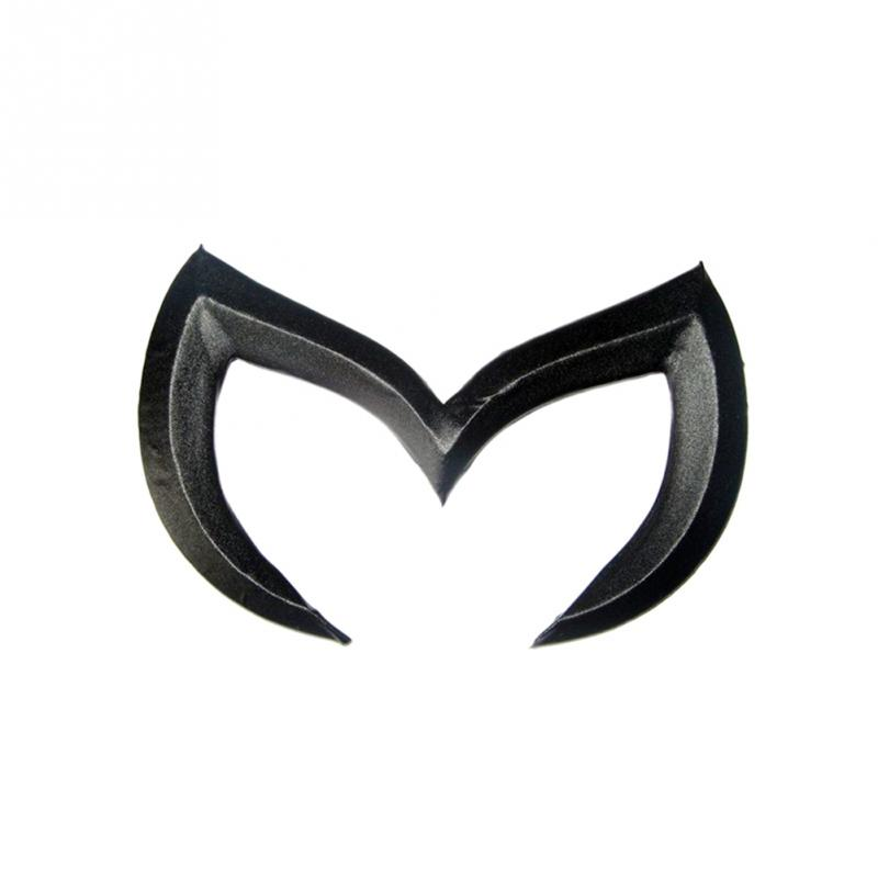 Chrome Metal Black Red Silver Gold For Mazda M Bat Car Stickers