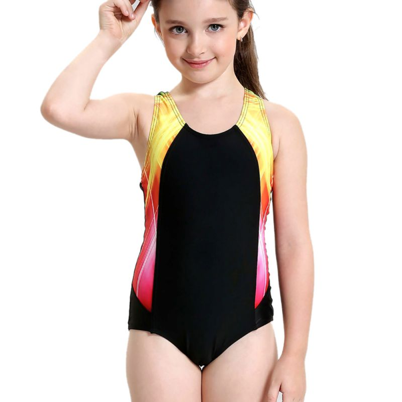 2018 new Kids One Piece Swimsuit Summer Baby Swimsuit Cute ...