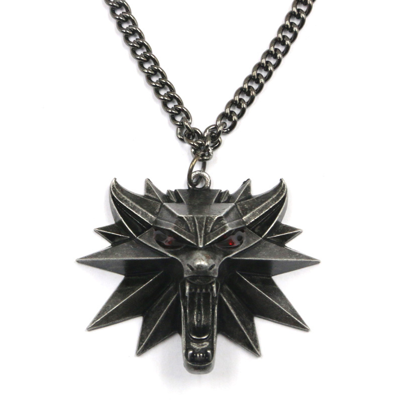 Pendentif loup the witcher