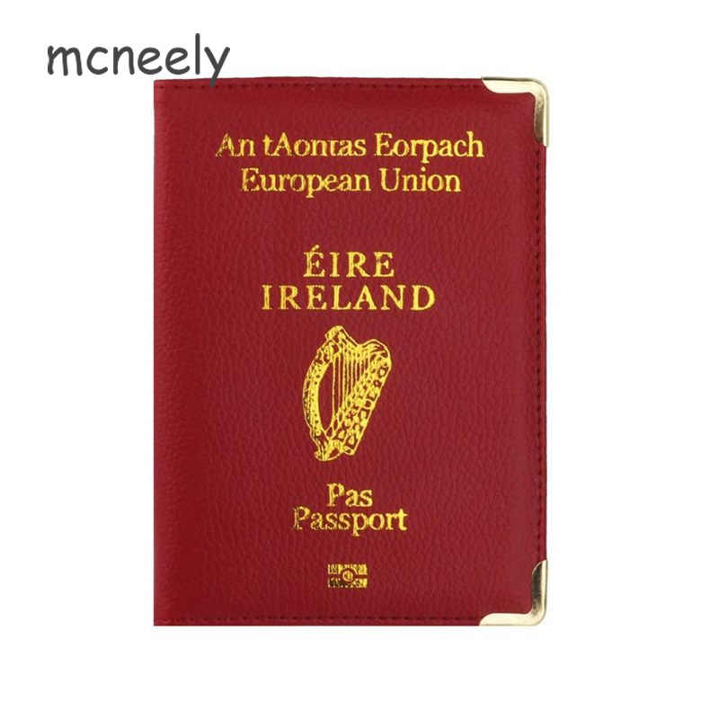 Irish Passport Holder Case Cover Protective Wallet Republic Of Ireland ROI 274
