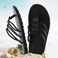 Brand Flip Flops Men Beach Summer Sandals Men Fashion Outdoor Slippers Black Sandalias Hombre