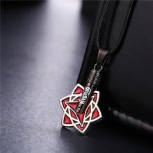 Fashion anime Naruto necklace Itachi Uchiha Sasuke Mangekyou Sharingan pendant Necklace naruto cosplay jewellry