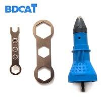 Electric Rivet Nut Gun Riveting Tool Cordless Riveting Drill Adaptor Insert Nut Tool Rivet Drill Riveting