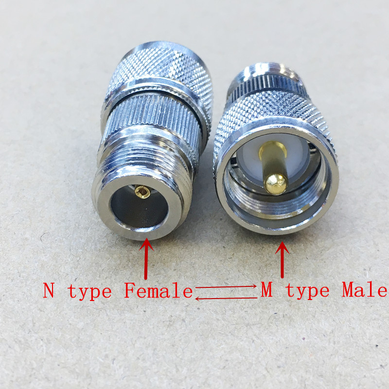 ANHAN RF coaxial Coax Adapter UHF Female to TNC Male Connector UHF Adapter 2Packs