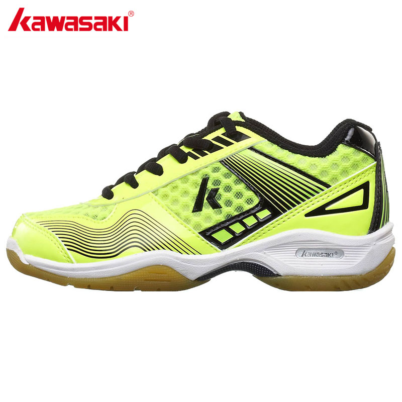 2017 Kawasaki Badminton Shoes for Kids Jogging Anti-Slippery Breathable Outdoor Child Sport Shoes Sneakers KC-12 13 2017 original kawasaki badminton shoes men and women zapatillas deportivas anti slippery breathable for lover