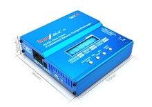 Skyrc imax b6ac v2 pantalla lcd descargador lipo del cargador del balance para el modelo de rc batería + de la ue/ee. uu./reino unido/au plug power supply cable