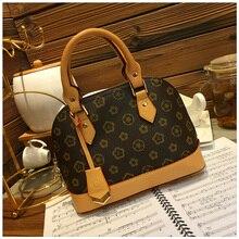 2019 new Luxury simple shells leather handbag Famous brands designer female tide knitting shoulder bag women Messenger bag цена 2017