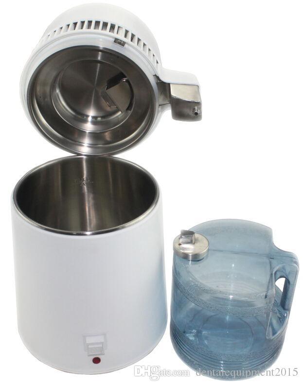 Dental Equipment CE Certificate Dental Water Steam Distiller With Stainless Steel Water Tank Aluminum Fan Warranty Have 1 Year