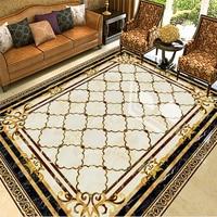 Beibehang Large Custom Wallpaper Wall Murals High Temperature Burning European Marble Tiles Tile Tile Parquet Pattern