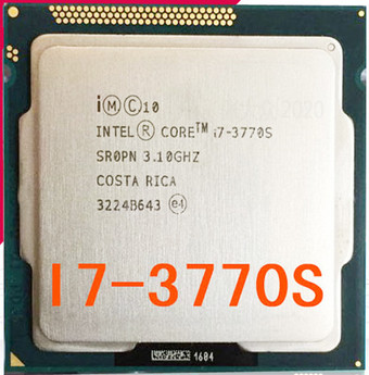 Intel Core  I7 3770S Processor Cpu 65W/3.1Ghz LGA 1155 100% Working Properly 3770s I7