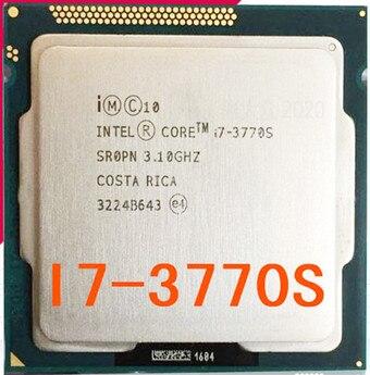 Processador intel core i7 3770s cpu 65 w/3.1 ghz lga 1155 100% funcionando corretamente 3770s i7