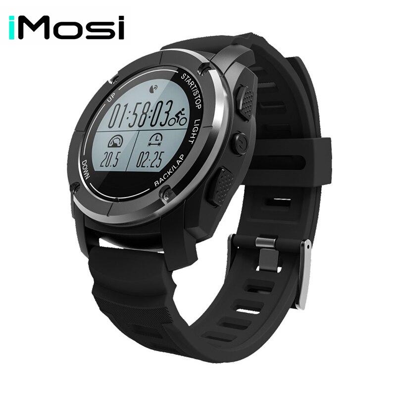 Imosi montre intelligente S928 prise en charge g-sensor Notification GPS Mode Sport montre-bracelet téléphone intelligent pour Android ios