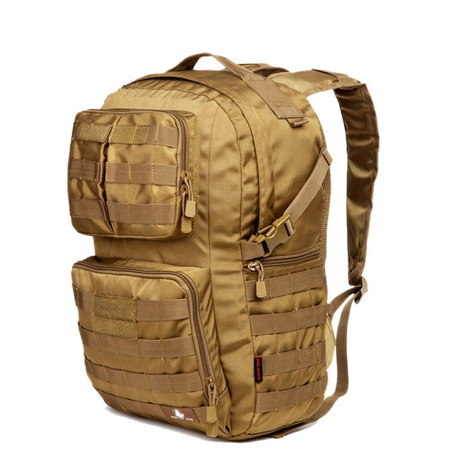 Hot 40L Outdoor Camouflage Military Tactical Backpack Rucksacks Sports Bag  for Camping Hiking Hunting Bags D507 8b626c1e78295