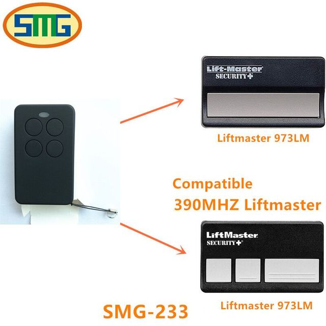 Chamberlain Liftmaster 973lm Garage Door Opener Mini Remote Control