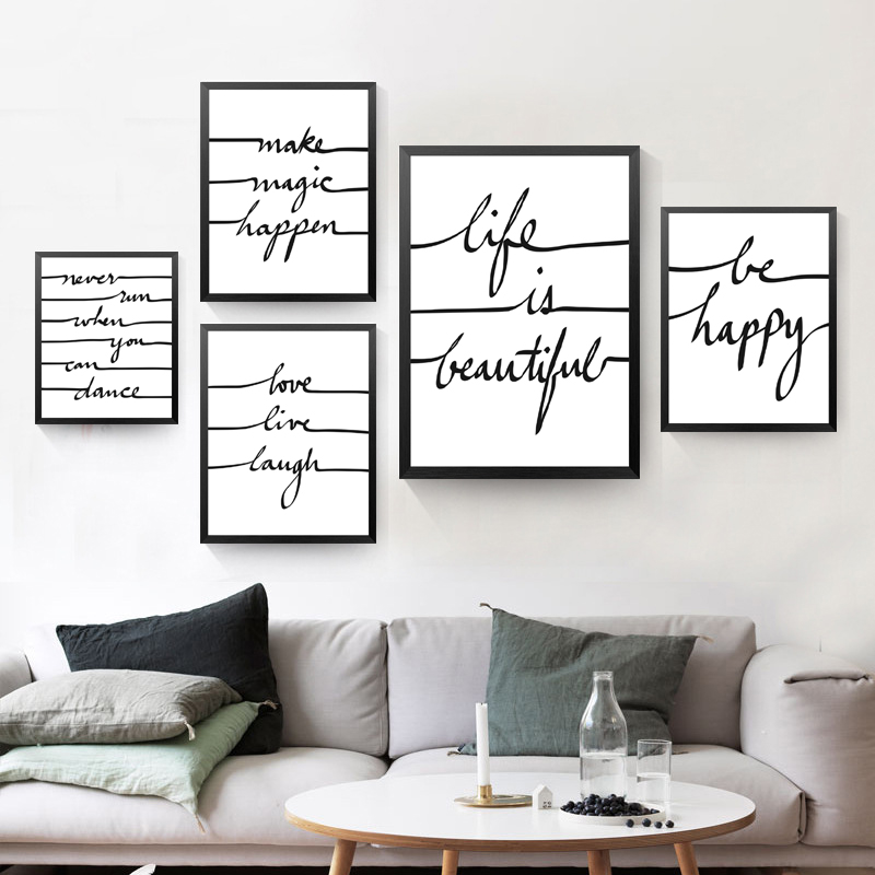 Be He Quote Canvas Art Print Poster