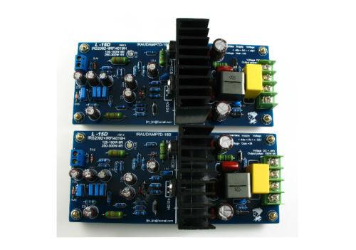 L15D Class D Audio Power Amplifier Board IRS2092 + IRFB4019 (IRAUDAMP7S)
