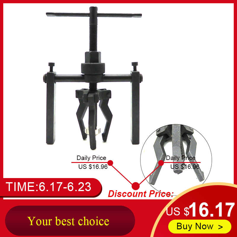 Fine-quality Carbon Steel 3-jaw Inner Bearing Puller Gear Extractor Heavy Duty Automotive Machine Tool Kit