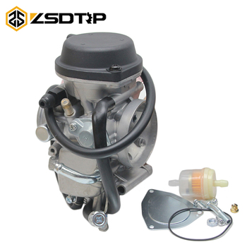 ZSDTRP PD36J için Karbüratör Carb Kawasaki KFX400 Hisun 350cc ATV UTV 350400 500CC Carb Suzuki Ltz400 Quad Carb 2003 -2009