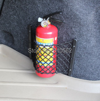 Free Shipping General Car Trunk Bags Storage Fire Extinguisher Net Auto Luggage Box Backstitching Compartment Bag