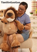 large 70cm jungle lion plush toy cartoon lion soft doll ,throw pillow birthday gift b2715