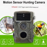 Digital Surveillance Camera for hunting 0.6S Trigger Speed Motion Detection 12MP Game and Trail camera for Deer Hunting cam
