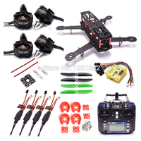 QAV250 250mm Quadcopter Frame CC3D EVO Controller 2204 2300kv Motor 12A Simonk ESC Flysky I6 FS i6 for RC FPV Racing Drone