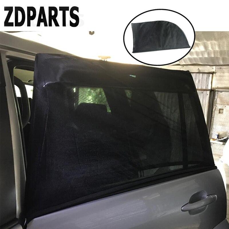 ZDPARTS 2Pc Car Window Sun Shade Visor Curtain Covers For Ford Focus 2 3 Fiesta Mondeo Kuga Kia Rio Ceed Sportage 2017 Sticker