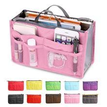 Новая женская модная сумка в сумках органайзер для хранения косметики Повседневная дорожная Сумка многофункциональная сумка косметичка 13 цветов