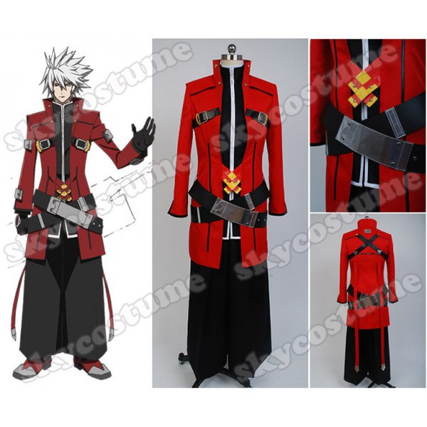 BlazBlue Ragna the Bloodedge Cosplay Costume Halloween Carnival Full Set