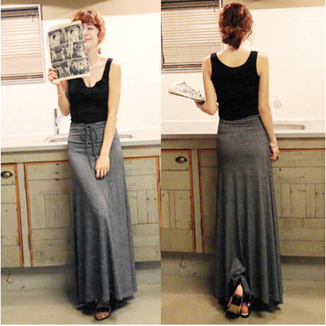 Aliexpress.com : Buy Hot Side Slitting Women Long Skirts Saia ...