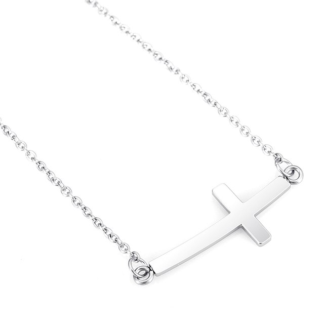 Jstyle Jewelry Mens Womens Stainless Steel Cross Necklace Pendant 20 Inch  Chain f83077d8bd