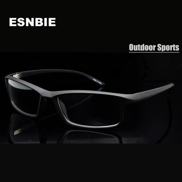 Esnbie nuevo tr90 plástico flexible lente transparente Gafas Marcos ...